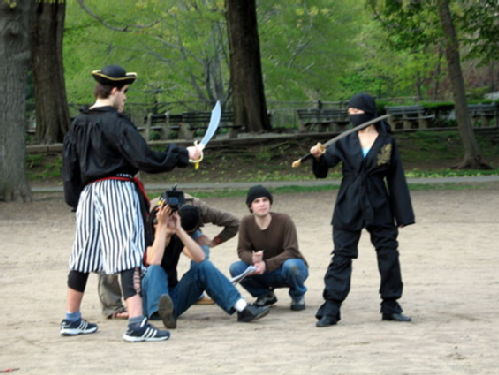 Pirates vs Ninjas!