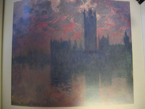 Houses of Parliament, Sunset 1902