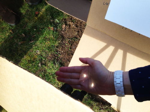 Eclipse in my hand