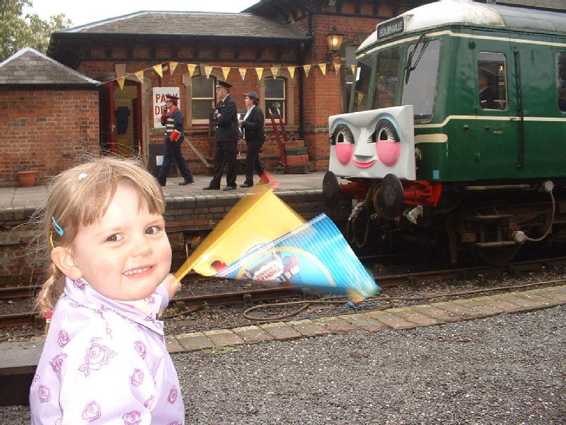 Emily meets Thomas the Tank Engine, 14/05/06, [Ux]