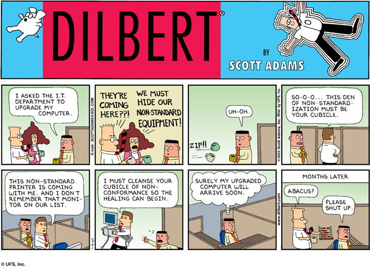 Introduccin A Agile Y Scrum Betabeers besides Cloud Humor together with Whats Missing In Strategic Planning moreover Dilbert Wally Quotes additionally Millennials Narcissistic. on dilbert agile