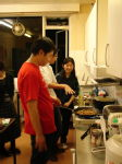 Cooking 20 - The chef is teaching Sze Nee how to cook