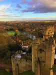 A Corner of Warwick Castle