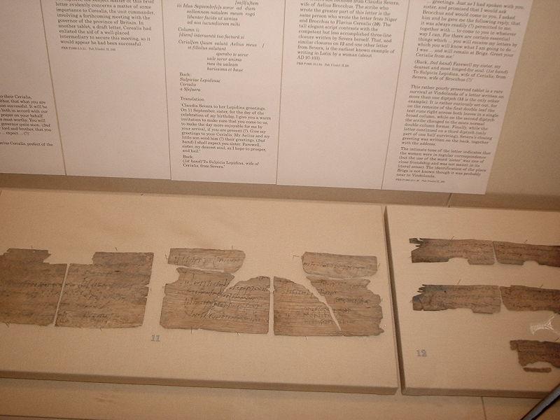 British museum trip 280405 et tu bloge vindolanda tablets stopboris Images
