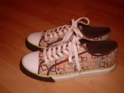 My funky new shoes.