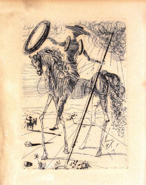 Don Quixote, Dali