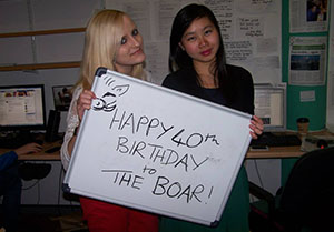 Boar birthday