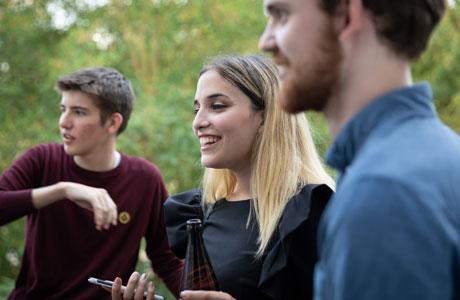 Socialising on the Warwick Summer School