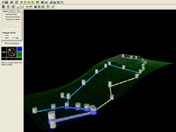 Sophisticated software for drainage design