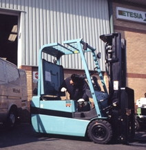 Forklift Truck Hired by Bendigo Mitchell