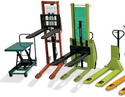 Hand pallet trucks inc scissor lift & high-lift trucks
