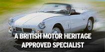 British Motor Heritage Approved parts
