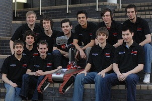 Warwick Mobile Robotics team 2010-11