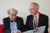 Professor Heinz Wolff and Professor Jeremy Wyatt