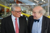 Professor Lord Bhattacharyya and Professor Heinz Wolff