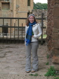 At Kenilworth Castle