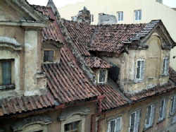 Fascinating roofs of the neighbouring house