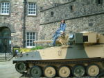 Edinburgh Castle - Tank