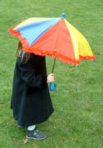Girl with umbrella 1