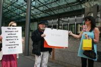 mini protest