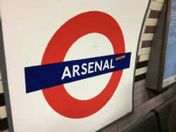 holy trip to Arsenal