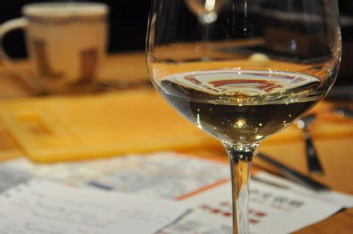 the white wine