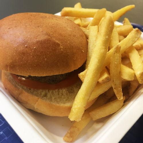 chips & hamburger