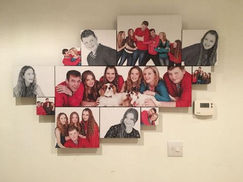 the family photos