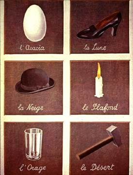 Magritte - Key to the Interpretation of Dreams