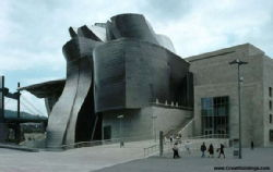 The Guggenheim Museum in Bilbao Spain by Frank Gehry