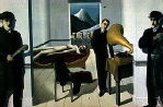 Magritte, Rene -The Menaced Assassin