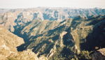 The Copper Canyon - Barranca del Cobre