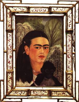 Frida Kahlo - Fulang Chang and I