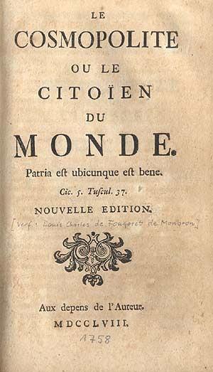 Fougeret de Monbron