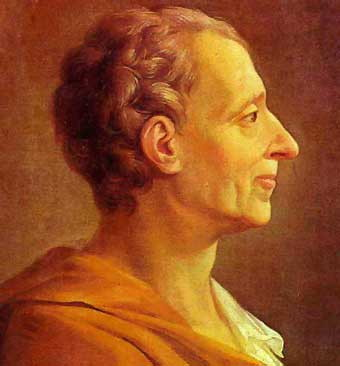 Charles Louis Montesquieu Human Nature