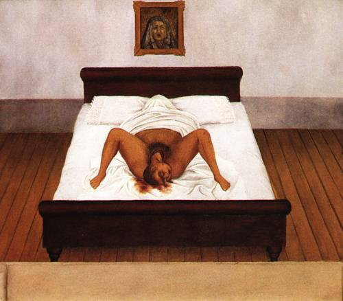 Kahlo - My Birth