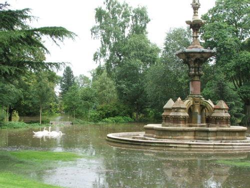 Jephson Gardens Under Water