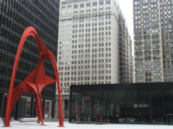 Calder, Alexander - Flamingo (Chicago)