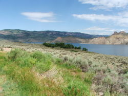 Colorado, Gunnison, Blue Mesa Lake