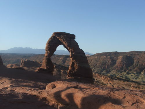 Utah, Arches National Park, the Delicate Arch