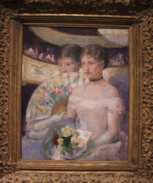 Cassatt - The Loge (1882)