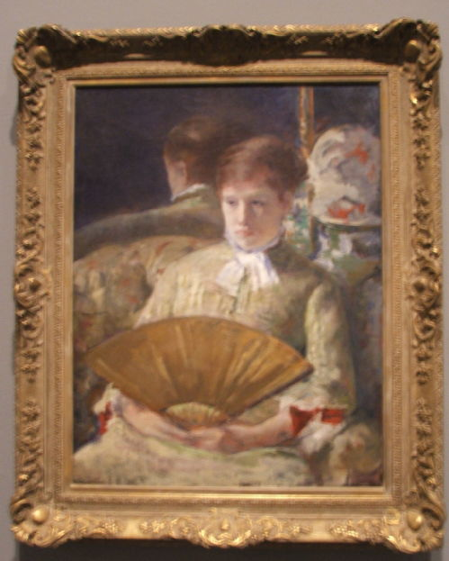 Cassatt- Miss Mary Ellison (1880)