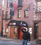 New York, Greenwich Village, Cherry Lane Theatre